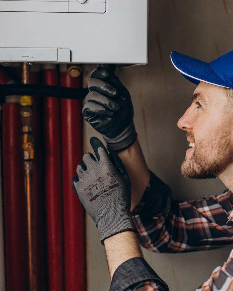 service-man-adjusting-house